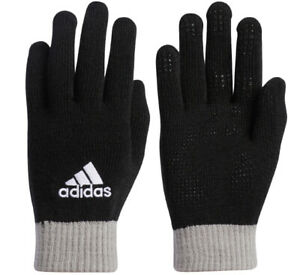 Adidas BC Knit Gloves Outdoor Sports Casual Running Black Unisex NWT GD8943