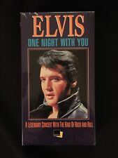 Elvis - One Night With You (VHS TAPE) Presley '68 Comeback Special concert