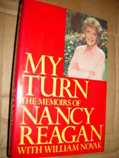 My Turn The Memoirs of Nancy Reagan With William Novak 1989 First Edition
