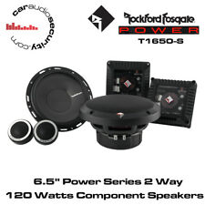 "Rockford Fosgate T1650-S - Power Series 16.5cm 6.5"" 2-Way Component Speakers"