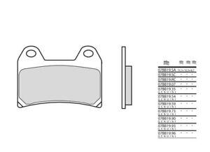 BENELLI 1100 TNT - Kit Plaquettes de frein AVANT - BREMBO - 38800247