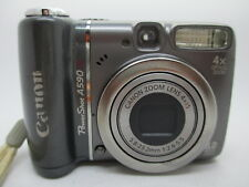 Canon PowerShot A590 IS Digital Camera Point & Shoot 8.0MP .