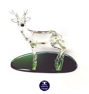"[NEW] ""Reindeer Standing"" Austrian Crystal Figurine"