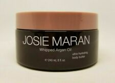 JOSIE MARAN WHIPPED ARGAN OIL HYDRATING BODY BUTTER UNSCENTED 8 OZ NEW UNSEALED!