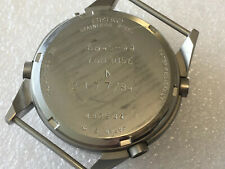 Gen 1 Seiko Pilots RAF Issued Military Watch Case & Back 7a28 7120 #2177
