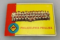 1963 Topps # 13 Philadelphia Phillies Team Baseball Card