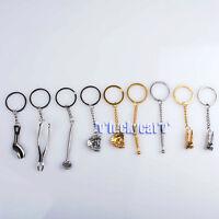 9Pcs Dental Molar Shaped Tooth Key Chain Dental Clinic Gift Nine Pieces