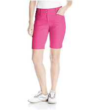 Adidas Golf Womens Size 10 Bermuda Shorts Hot Pink
