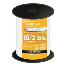 ZIP-LINE-18/2-WHT- 250ft White 18/2 Lamp Wire for use with Add A Taps
