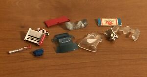 VTG Aurora H.O. AFX & G-plus Body Parts & Glass Lot to Restore or Customize