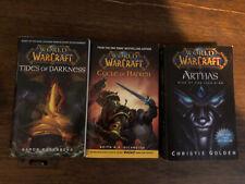 World of Warcraft Books - Lot Of 3