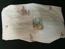 Pottery Barn Kids Crib Fitted SHEET Toddler PETER RABBIT Beatrix Potter Easter