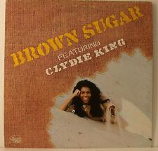 "BROWN SUGAR FEATURING CLYDIE KING - brown Sugar SAME 12"" LP (j505)"