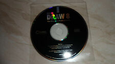 Corel Draw 8 - CAD - One Disc - Photo & Text Editing - ORIGINAL New
