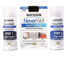 NEVER WET Rust-Oleum 18 oz MULTI SURFACE Protector Spray Kit WATERPROOF