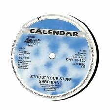 """Sarr Band - Strout Your Stuff  - 12"""" Vinyl Record"""