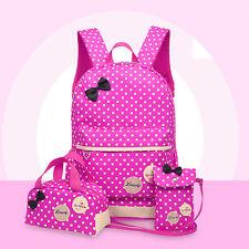 New Womens Backpack Kids Kinder School Bag Shoulder Bag Rucksack Travel Bookbags