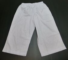 Blair Womens Size 12 Faint Lavender Woven Casual Capri Pants New