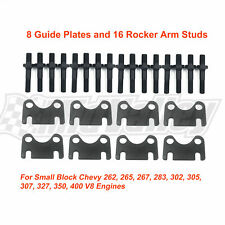 38 Rocker Arm Studs Amp Guide Plate Kit For Sbc Small Block Chevy 262 265 267