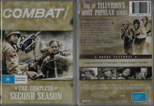 COMBAT! Complete 2nd Season * NEW & SEALED * 8-DVD Set Region 0 (Plays on ANY Pl