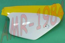 FIANCATINA DESTRA VERNICIATA GIALLO - BIANCO  RX 125 cc  1989 - 1993 AP8131588