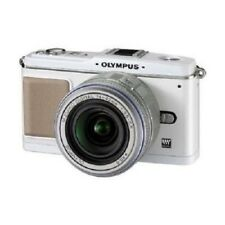 USED Olympus E-P1 12.3MP with 14-42mm White excellent FREE SHIPPING