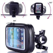 Waterproof Motorbike Motorcycle Bike GPS SAT NAV Case Bag s Mount Hold