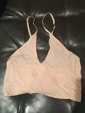 Brandy Melville Top NWT Pale Pink Fits Size XS S OSFM Free Hair Band