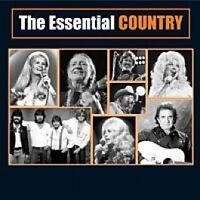 THE ESSENTIAL COUNTRY (Volume 1) 2CD NEW Carter Family Hank Snow Skeeter Davis