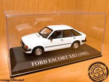 FORD ESCORT 1.3 GL WHITE 1982 1:43 WITH BOX!! MINT!!!