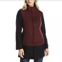 Prana Women's Size M Convertible Caprice Jacket Red W2CAPR315 New