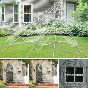 Spider Web Giant Decoration Horror Party Haunted House Scaring Halloween Props