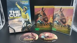 THE CUP BOOK BY ERIC O'KEEFE & PHAR LAP HERO TO A NATION DVD