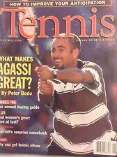 Tennis Magazine Andre Agassi May 1996 101517nonrh