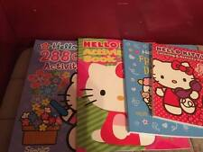 HELLO KITTY COLORING AND ACTIVITY BOOKS WITH STICKERS SET OF 4