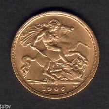 Australia.  1906 Sydney - Half Sovereign.. Much Lustre..  aEF/gEF