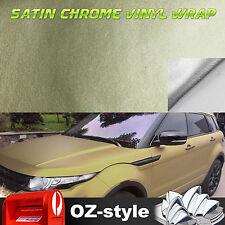 Car Body Decal Sticker Vinyl Film Sheet Wrap Premium Satin Matte Gold 1.51 X 8M