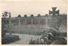 Foto, deutsche Kameradengräber in Weißrussland, 1941 W(G)1443