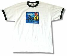 PRIMUS RUBBER DUCKY BAND IMAGE WHITE RINGER T-SHIRT XL NEW OFFICIAL LES CLAYPOOL