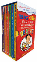Big Nate Series 6 Books Collection Box Set Pack By Lincoln Peirce In the Zone..
