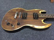 E-Gitarre gebraucht, SG Style, Harley Benton, AC/DC