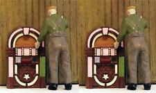 Jukeboxes vintage period detailing O Scale 2 Pack unpainted details