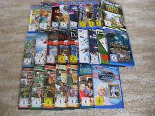 PC-Spielesammlung =25 PC- Spiele v. versch. Anbietern z.B.Deutschland sp.usw.