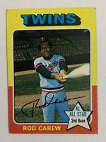 1975 Rod Carew # 600 Baseball Card Minnesota Twins HOF