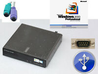 COMPUTER DELL FX160 1,6Hz 2GB RAM RS-232 VGA + DVI 2GB SSD MIT WINDOWS 2000 #M5