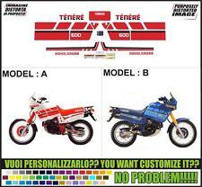 kit adesivi stickers compatibili xt 600 z tenere 3aj 1988