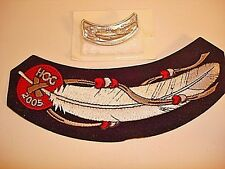 Harley Rocker Patch Pin Owners Group 2005 Unsewn New Eagle Feather