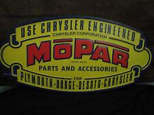 DODGE MOPAR CHRYSLER PLYMOUTH METAL SIGN part accessories emblem logo auto car