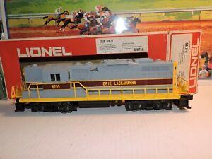 LIONEL #6-8759 ERIE LACKAWANNA GP-9 DIESEL LOCOMOTIVE-LN. IN ORIGINAL BOX RUNS