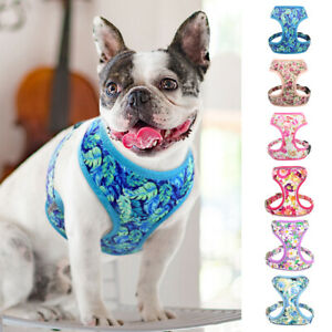 Soft Reflective Mesh Dog Harness Breathable Fabric Puppy Cat Pet Adjustable Vest